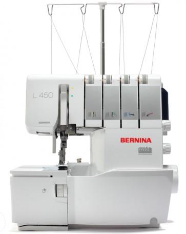 Bernina Lock L450 met gratis multifunctionele naaivoet